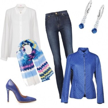 Outfit I love blue