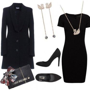 Outfit Nero e luce