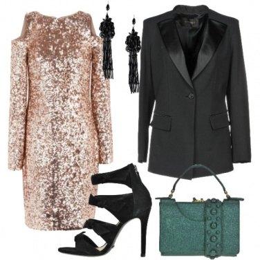Outfit Abito scintillante