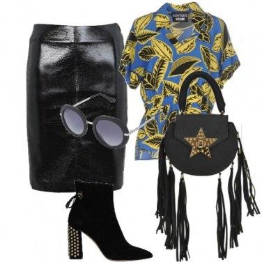 Outfit Un po\' rockstar