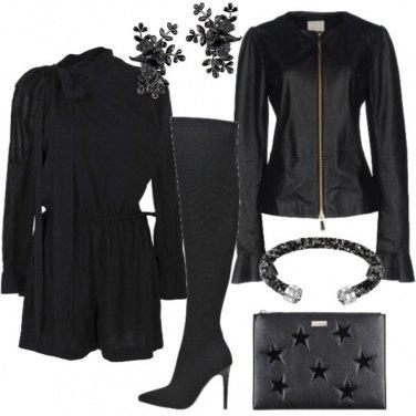 Outfit Nera come la tua sera
