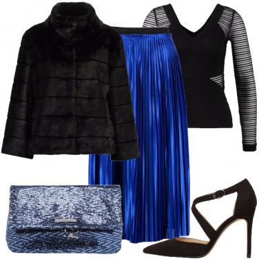 Outfit La longuette plissettata