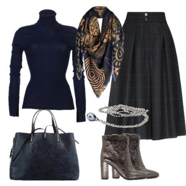 Outfit True blue