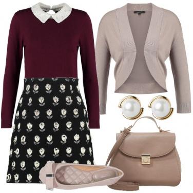 Outfit Raffinata con la gonna