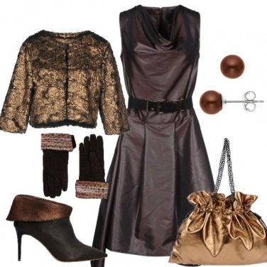 Outfit Chic in bronzo