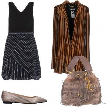 Outfit Righe verticali e oblique
