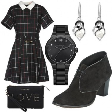 Outfit Tartan Chic