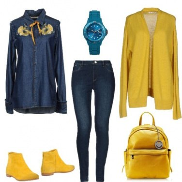 Outfit Ragazza Solare