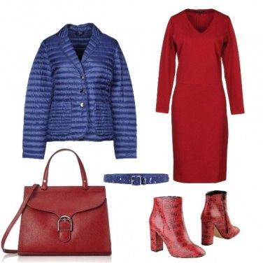 Outfit Tofly_rossa di, sera