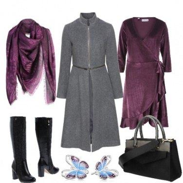Outfit Il cappotto con cerniera