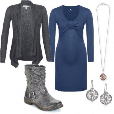 Outfit Incinta con stile