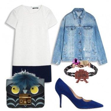Outfit Simpatica come la borsa