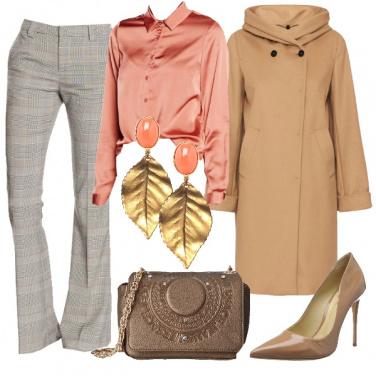 Outfit Principe di Galles in rosa