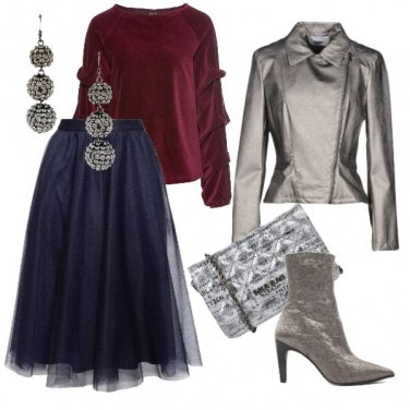 Outfit Glam così