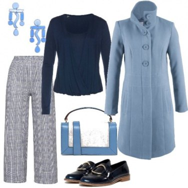 Outfit Cappottino bon ton