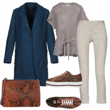 Outfit Il blu sportivo