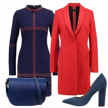 Outfit Vestito e cappotto