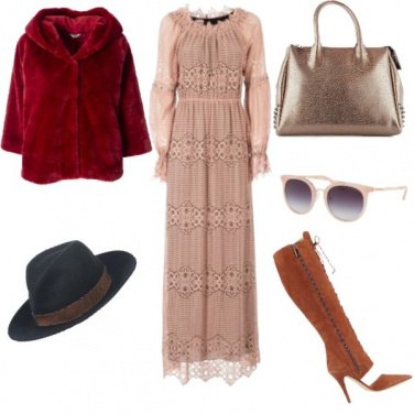 Outfit Polvere rosa