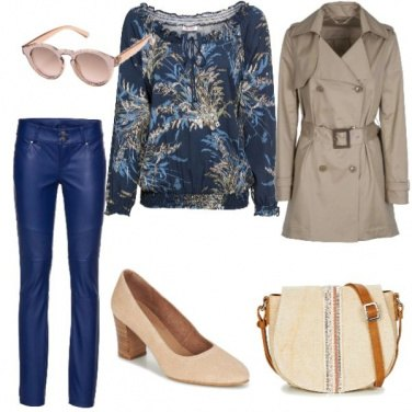 Outfit Pelle blu...