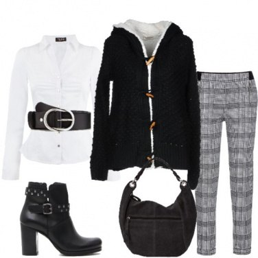 Outfit Il caldo cardigan