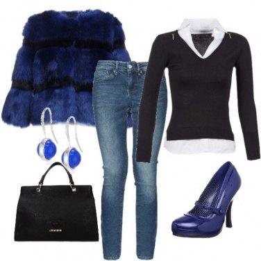 Outfit Eletrizzante blu
