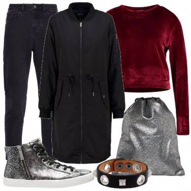 Outfit Feste in stile urban