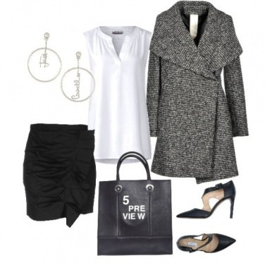 Outfit Black and white #02