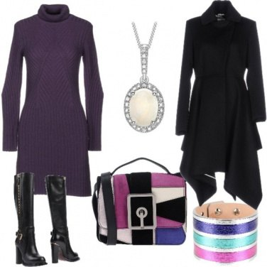 Outfit Cappotto asimmetrico