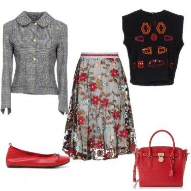 Outfit Leggiadria autunnale