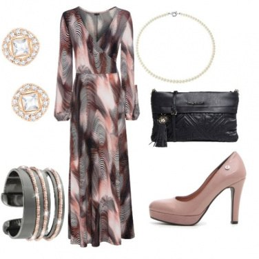 Outfit Bouquet astratto
