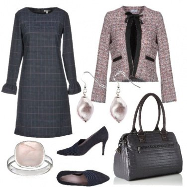 Outfit Rosa antico