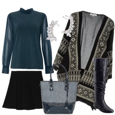 Outfit Un look trendy