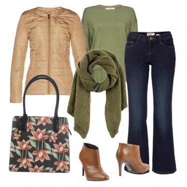 Outfit Una borsa a fiori