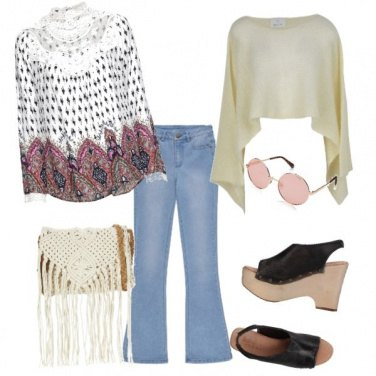 Outfit Hippie glam