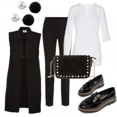 Outfit B&W style