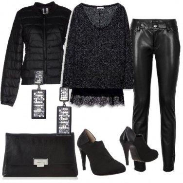 Outfit Grintosa in nero