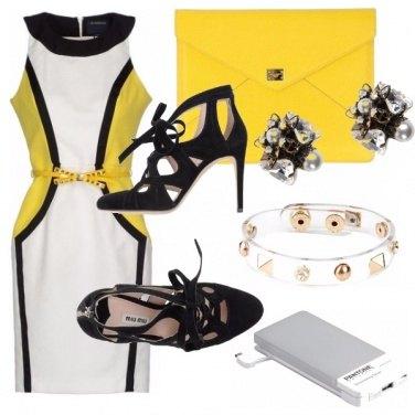 Outfit La signora in giallo