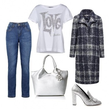 Outfit Glamour grey