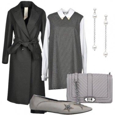 Outfit Vestito corto e ballerine
