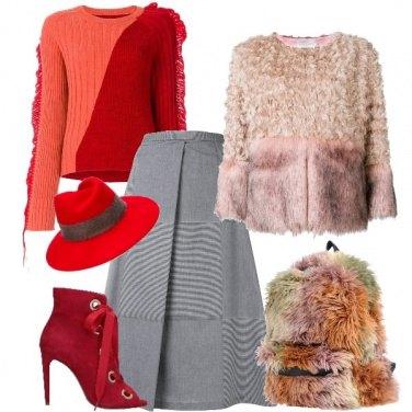 Outfit Fashion con lo zaino