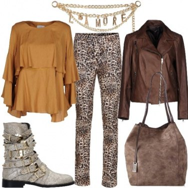 Outfit Brivido felino