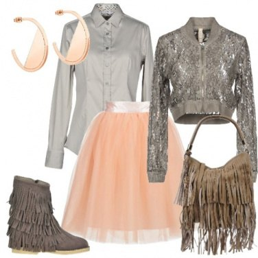 Outfit Passione per le frange