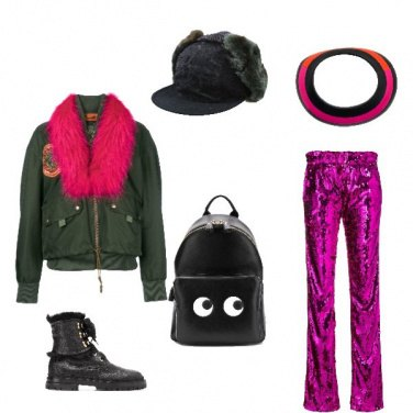 Outfit Rock #3549