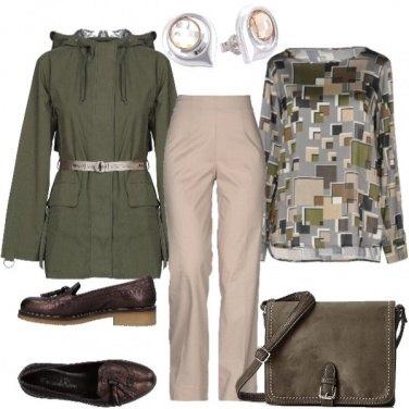 Outfit Il comodo mocassino autunnale