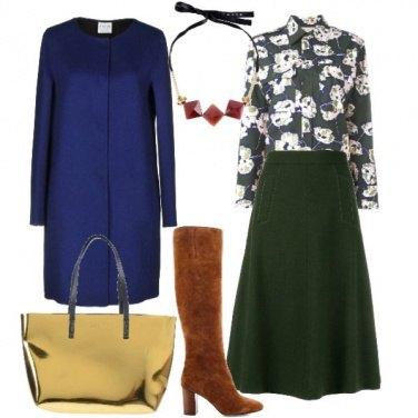 Outfit Il verde e il blu
