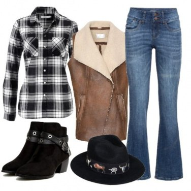 Outfit Cowgirl