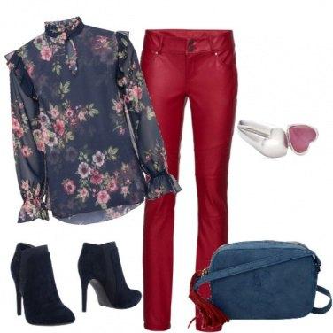 Outfit Blusa a fiori