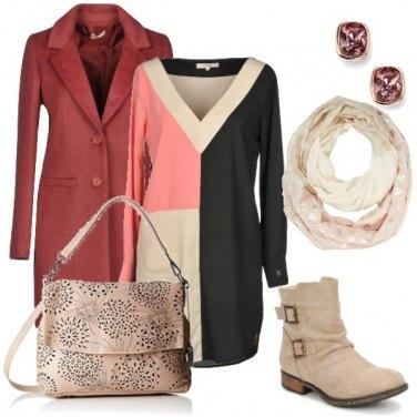 Outfit Geometrie nel vestito