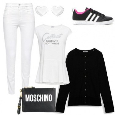 Outfit Il solito black and white