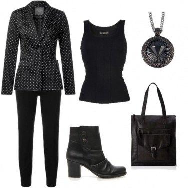 Outfit Total black... o quasi